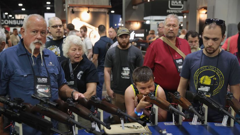 NRA members, Annual Meetings and Exhibits