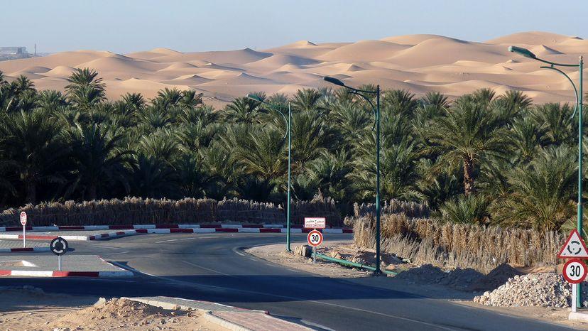 record temperature in Algeria