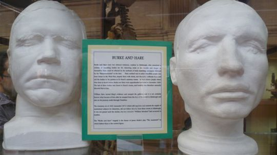 Burke and Hare: Murderers for Money and Science