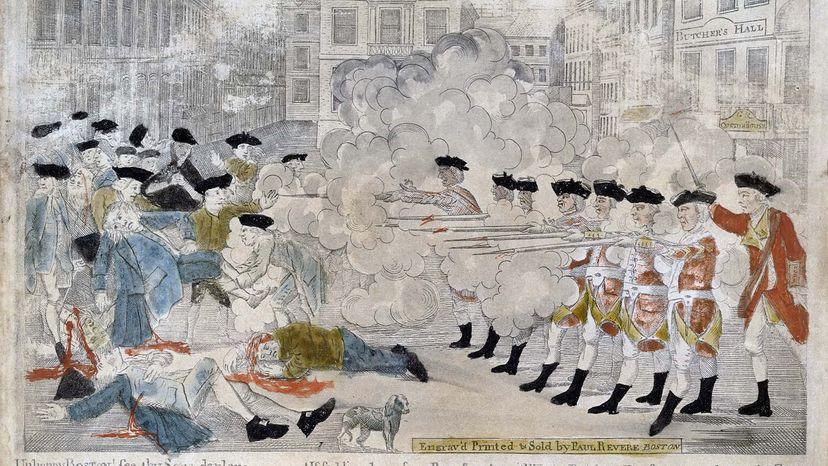 Boston Massacre engraving