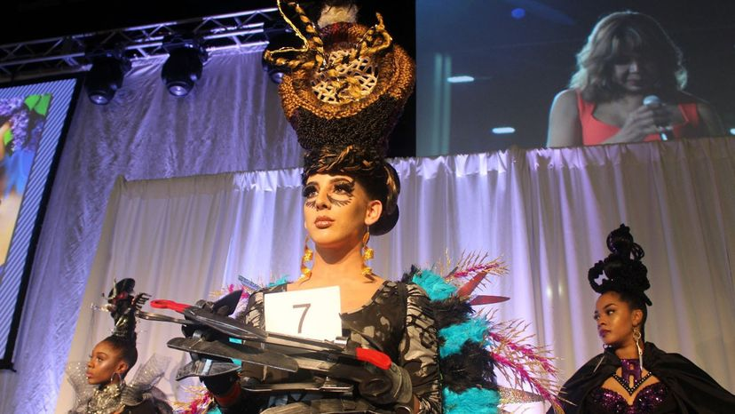 Bronner Bros. hair show competitors