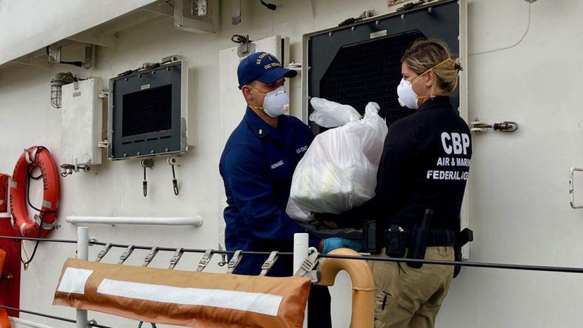 Coast Guard Joseph Tezanos , Drug Smuggling