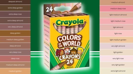 Crayola Unveils New Crayons for Kids of All Colors
