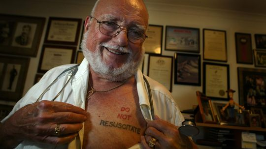 Telling Doctors Not to Resuscitate, by Tattoo