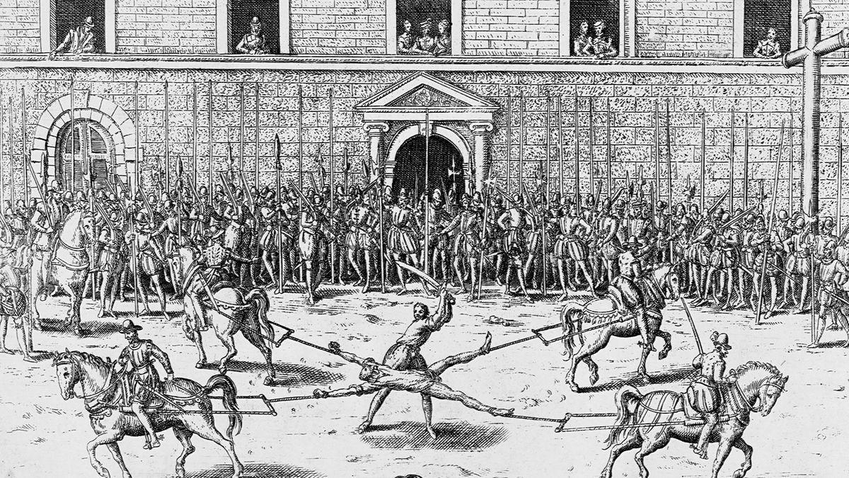 """Die Hinrichtung """"gehängt, gezogen und geviertelt"""" war noch schlimmer als Sie denken"""