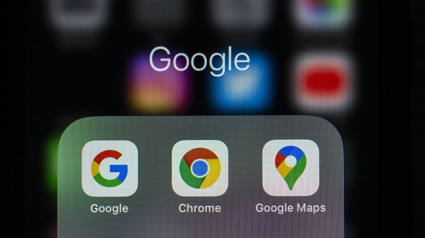Google Chrome on mobile phone