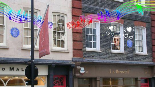 Handel & Hendrix and Other Famous 'Next-Door Neighbors'