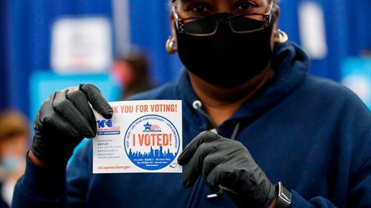 How 'I Voted!' Stickers Increase U.S. Voter Turnout