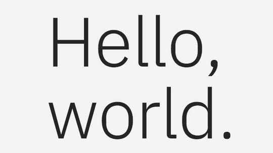 IBM Just Unveiled Its Own Bespoke Typeface