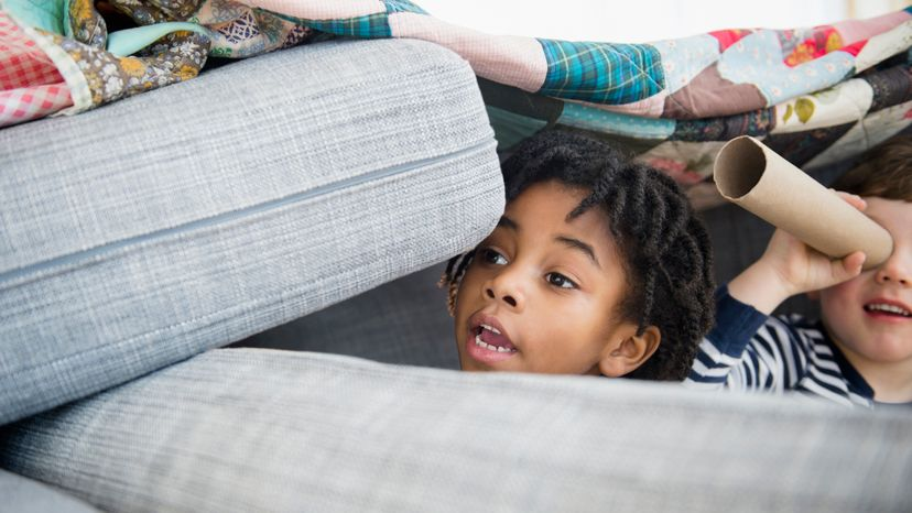 Data shows that children who have imaginary friends tend to be more engaged, more creative and also typically spend less time on TV and screens. JGI/Jamie Grill/Getty Images