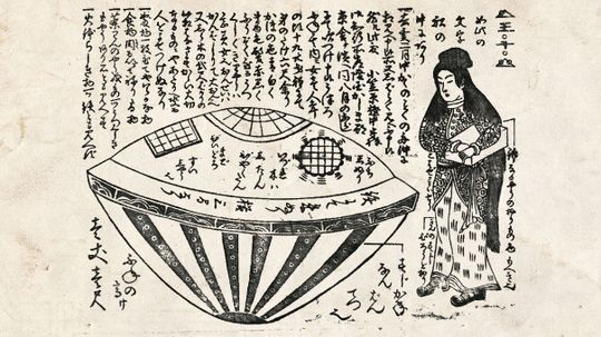 Did an Alien Contact Japanese Fishermen in 1803?