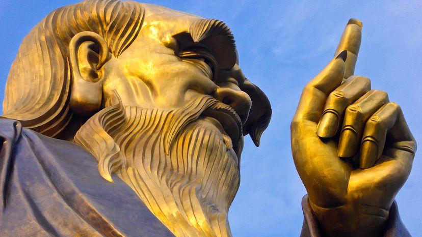 statue of Lao-Tzu