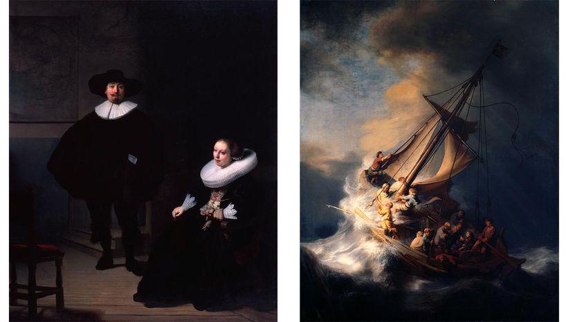 stolen Rembrandts