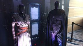 Rey 'Star Wars' costume, Kylo Ren costume, Last Jedi press conference