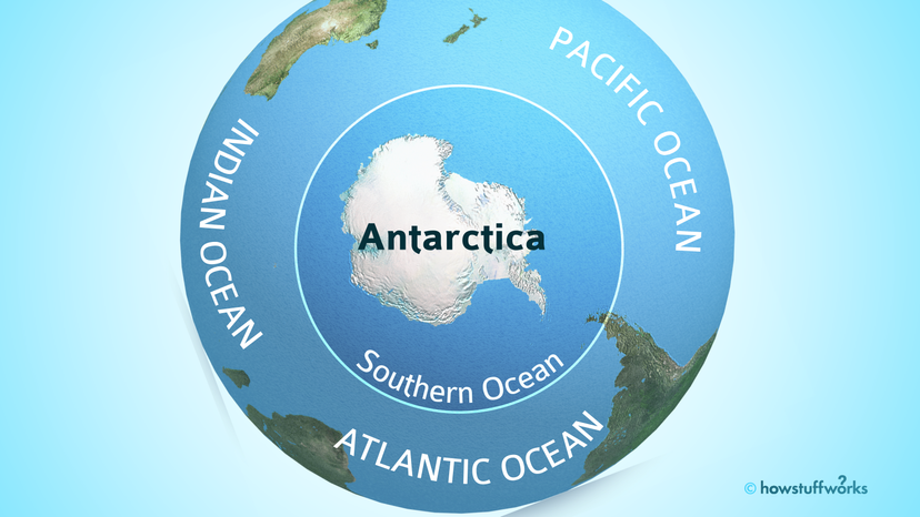 Southern Ocean and nearby oceans