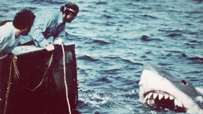Richard Dreyfuss and Robert Shaw, Jaws