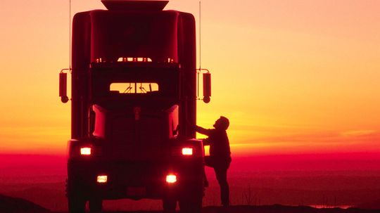 Step Inside the Life of a Trucker