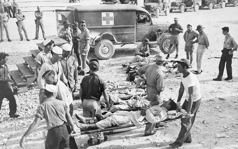 survivors from USS Indianapolis