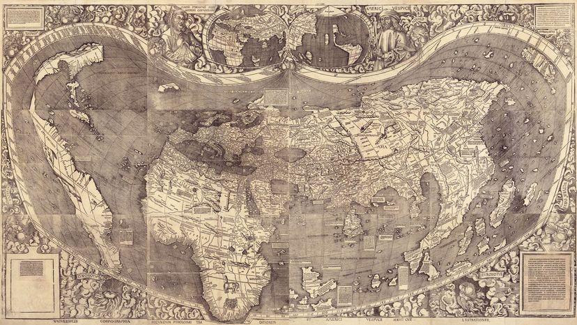 1507 Waldseemüller map