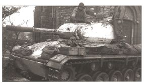 The M-24 Chaffee Light Tank succeeded the M-3 Stuart/M-5 Light Tank in May 1944.