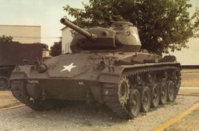 The M-24 Chaffee Light Tank was named by the British after General Adna R. Chaffee, who was the chief proponent of armored warfare in the United States before the start of WWII.