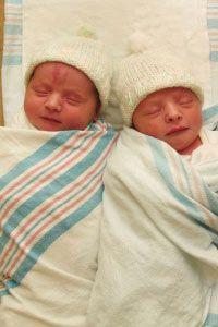 In the last three decades, twins have become more common.