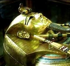 As the Egyptian concept of the afterlife evolved, they began to use more and more elaborate coffins and tombs to protect and honor the dead.