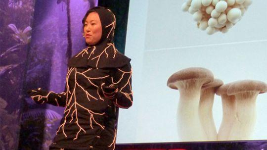 Mushroom Burial Suit Creates Life After Death