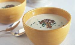Cream of mushroom soup is great on its own or as part of a tasty recipe. See more health soup pictures.