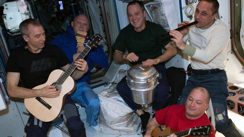 music on ISS