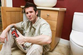 A pipe wrench is good for plumbing jobs as it can tighten and loosen pipes.