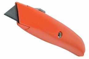 A utility knife can break down cardboard boxes, trim carpet, cut drywall, and do a hundred other things.