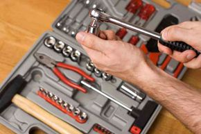 What tools should a well-stocked tool box have? See more home construction pictures.