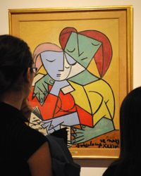 While you may not have an original Picasso hanging on your walls, art can be a focal point of an entire room.