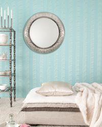 Mirrors may not always flatter the figure, but they can accentuate a room nicely.