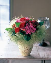 A vase full of flowers can bring life into a home.