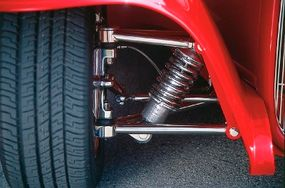 Kugel independent front and rear suspensions provide a smooth ride.