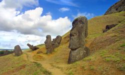 Were the moai meant to inspire fear?
