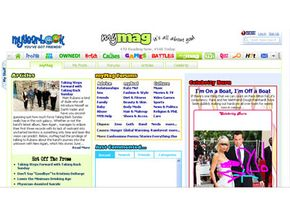 The MyMag section allows members to post articles for the rest of the community to read.