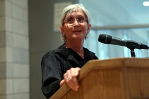 Choreographer Twyla Tharp, seen here after receiving the I.A.L. Diamond Award for Achievement for the Arts at Columbia University in 2010, received a grant from the MacArthur Foundation in 1992.