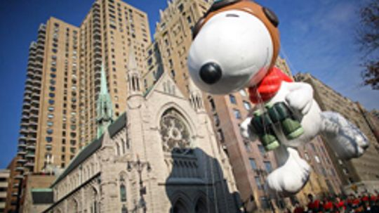 Macy's Thanksgiving Day Parade Balloon Pictures