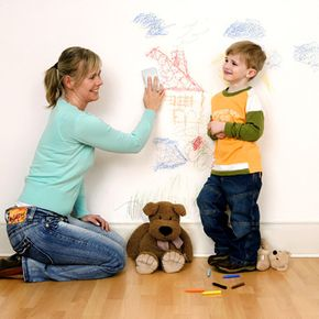 Got kids? You'll probably benefit from keeping melamine foam erasers on hand.