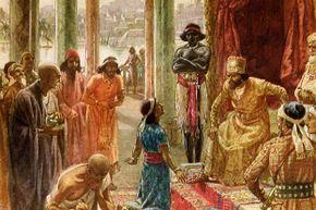 Daniel interprets the dream of Nebuchadnezzar.