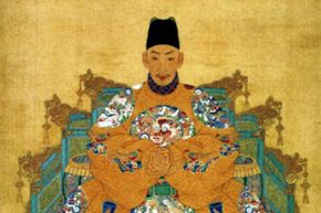 China's Emperor Zhengde liked hunting wild animals almost as much as hunting people.