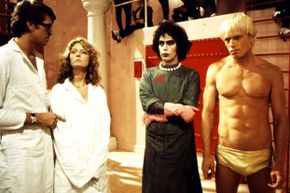 In this awkward moment from mad science history, Brad, Janet, Frank-N-Furter and Rocky Horror all take a moment to think about what they've done.
