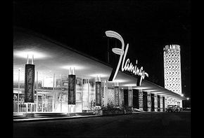 Bugsy Siegel's infamous mob hangout, the Flamingo Hotel