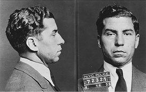 "Mug shot of Charles ""Lucky"" Luciano"