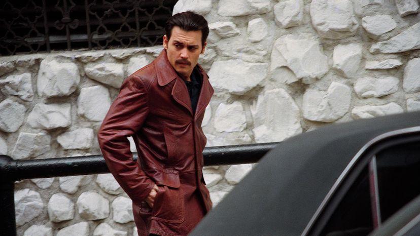 Johnny Depp stars as Donnie Brasco