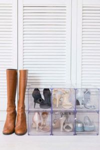 Where are your shoes when they're not on your feet? Where you keep them is a factor in how long they will last.
