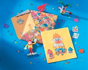 Use the One-of-a-Kind Envelope and Greeting Card to send special messages to your friends and relatives.